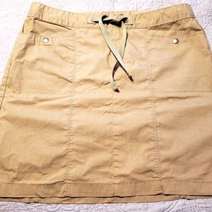 Eddie Bauer Water-repellent Utility Skirt. EUC. Sz